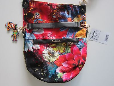 57X50B4 Desigual//Schultertasche// Bols New Liberty Jacky Damentasche NEU