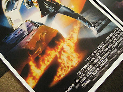 """Back to the Future ( 11"""" X 17"""" ) Movie Collector's Poster Prints ( Set of 3 ) 3"""