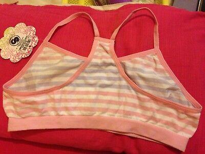 1 Girl's Seamfree Crop Top, Underwear. Age 12-14 Yrs. New 2