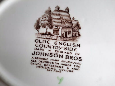 """Johnson Brothers Olde English Countryside  Oval Serving Platter 11"""" 4"""