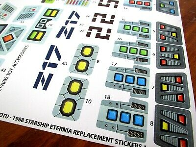 HE-MAN MOTU  replacement stickers for HEMAN BOLAJET   /'DIE CUT/'