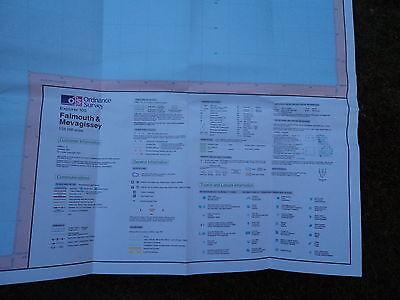 Ordnance Survey Map Falmouth, Mevagissey 1997 Inc Truro Pentewan, Heligan Penryn 4