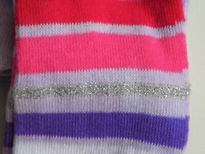 Baby , Toddler And Girl  Plain , And Striped Patterned Tights In Various Sizes 4