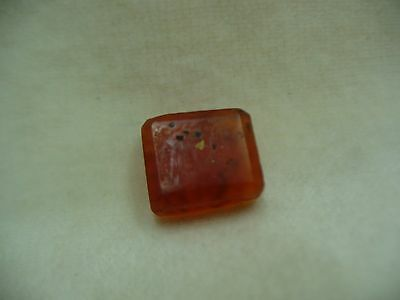 Seal Antique Agate Stone With Ancient Arabic Writing Middle East Rectangular 7