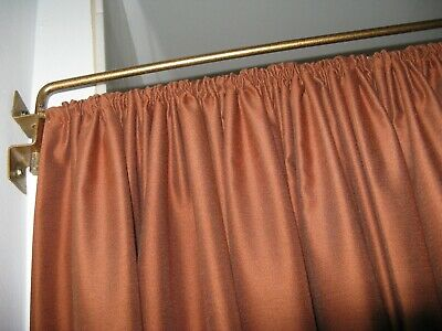 Modern Style Swing Arm Curtain/Drapery Rod in Antique Metal Gold Finis 4