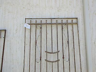 Antique Victorian Iron Gate Window Garden Fence Architectural Salvage Door #369 2