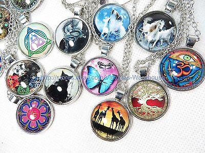 99 Cents P 50 Necklaces Wholesale Gothic Eyptian Boho Hippie Jewelry Lot 8