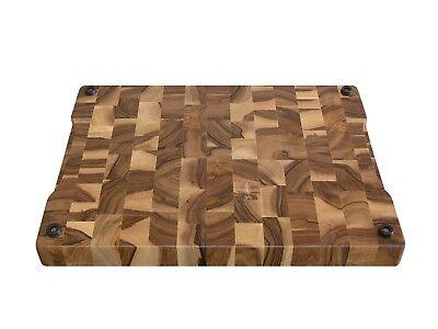 Wood, Handmade, Cutting Board End Grain with Feet, Butcher Block, Chopping Board 2