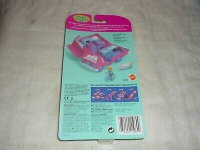 Vintage 1995 Bluebird Polly Pocket Home On The Go Rv Playset New & Sealed Moc 4