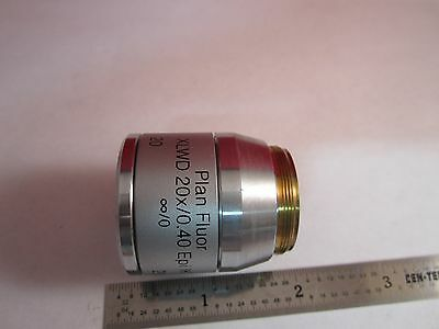 Microscope Objective Reichert Fluor Dic 20 Polycon Epi Infinity Optiques B #11 4