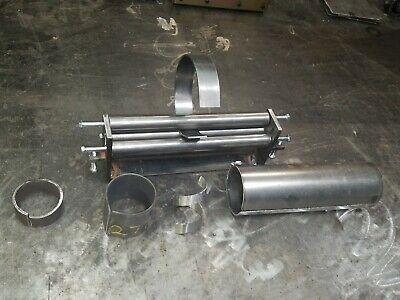 "12"" x 10 Gauge Sheet Metal Roller Slip Roll rolling metalworking brass steel 7"