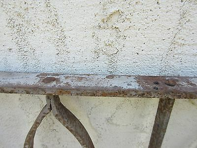 Antique Victorian Iron Gate Window Garden Fence Architectural Salvage Door #629 6