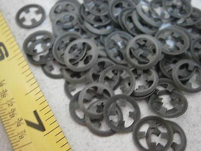 Waldes 11-420-0070-ST-PA Retaining Ring External 7mm eRing Steel Lot of 25 #5605