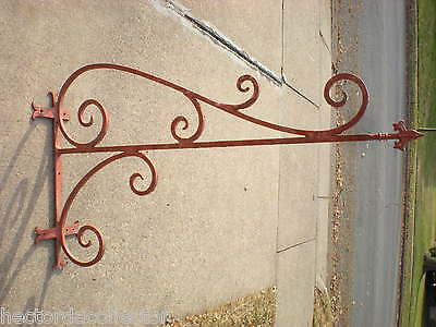 2 Antique Cast Iron Porch Entrance Way Pillars Acorn Leaves Corbels Post Salvage