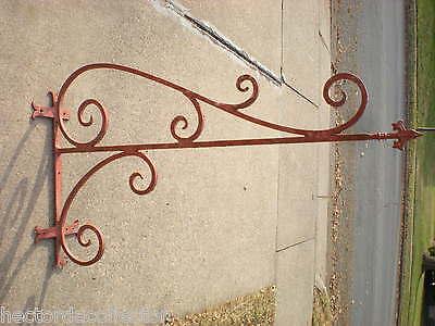 SALE Antique Architectural Salvage Cast Iron Pediment Oak Leaves Acorn Swag Chic 7