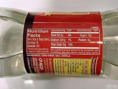 Karo Light Corn Syrup with Real Vanilla 473ml, Gluten Free, with Real Vanilla 3