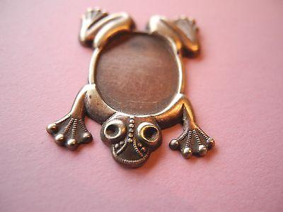 Zierteile Metallbeschläge Tier Frosch 192