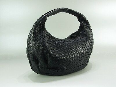 29ae43973052f ... Bottega Veneta Tasche Schultertasche Leder Schwarz Leather It-Bag Hobo  black 3