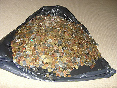 lot of 50 world mixed coins