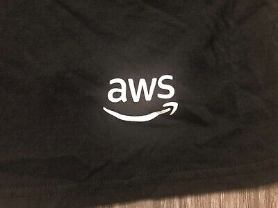 AMAZON Web Services AWS:re:PLAY Intel Medium Shirt Used 10