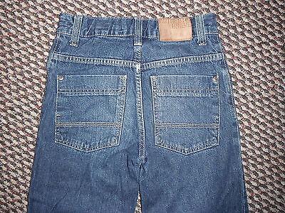 "Next Loose Jeans Waist 26.5"" Leg 26"" Faded Dark Blue Boys 11 Yrs Jeans 4"