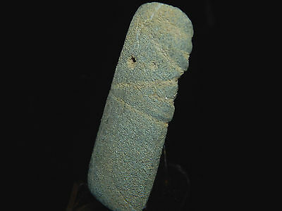 Pre-Columbian Jade Avian Pendant, Central America, Authentic