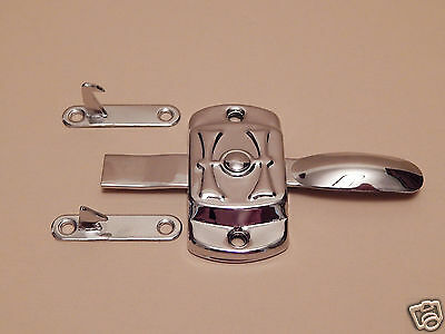 Hoosier Cabinet H Latch Nickel Plated 2 • CAD $19.03