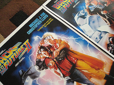 """Back to the Future ( 11"""" X 17"""" ) Movie Collector's Poster Prints ( Set of 3 ) 5"""