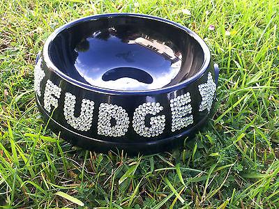 dog bowl,cat bowl, pet bowl, personalised bowl, small size, various colours 3