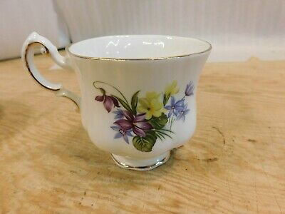 """Paragon, """"flower festival c"""" tea cup with saucer, made in england 3"""