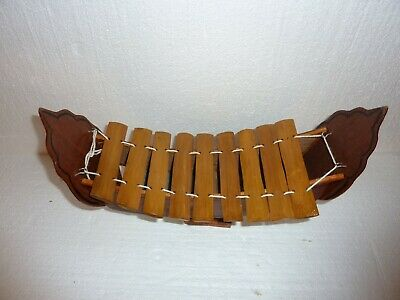 Vintage Chinese boat Xylophone Wooden 4