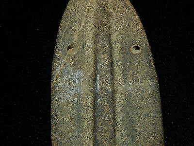 Pre-Columbian Large Ceremonial Pendant, Central America, Authentic 4