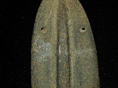 Pre-Columbian Large Ceremonial Pendant, Central America, Authentic 4