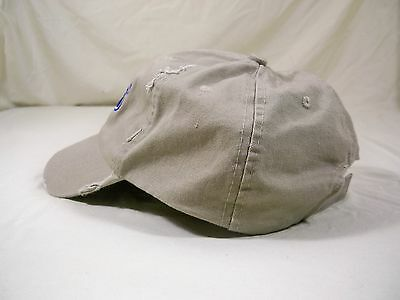 1fccd770 FORD DISTRESSED BASEBALL Cap Hat Knox, IN. Kahki One Size Fits Most ...