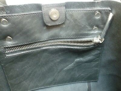 13e24abd94 ... New leather shopper bag ZARA, borsa shopper ZARA vera pelle NUOVA con  etichetta 8