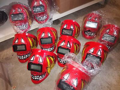 Teufel BRONZE Maske Vereine Gruppen Fastnacht Fasching Karneval ExSchweissmaske