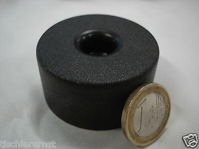 16 Stück Polsterfuß Möbelfüße Gleiter Kunststoff schwarz rund 40x12 mm Frei Haus