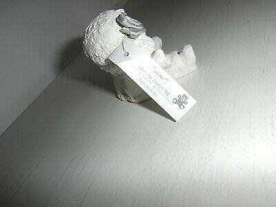 MATHILDE M FRANCE SCENTED WHITE CERAMIC PLASTER RAG DOLL HOME DECOR ORNAMENT