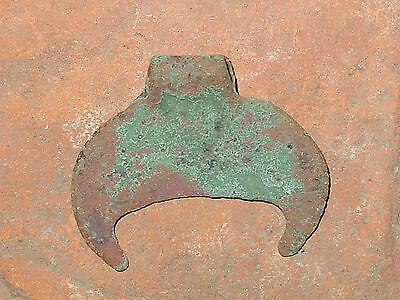 Perfect condition Viking  Moonlike pendant. ca 10-11 AD.