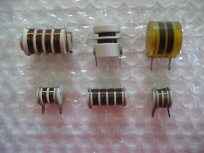 8 x NOS 10K Ohms NRC 1/2 Watt Noninductive Wirewound Resistors! 1950s!