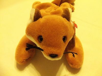 TY Beanie Babies Red Fox ** SLY ** 5th Generation New w/ Tag