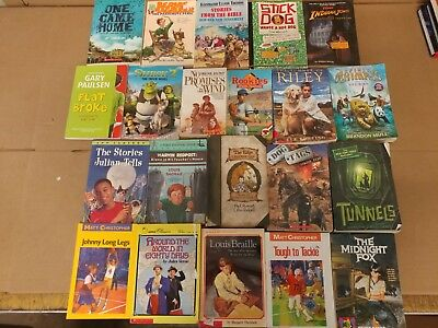 Lot of 20 Chapter Books for BOYS Youth Early Reader Young Adults Children RANDOM 3