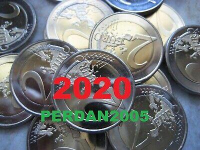 LITUANIA 2020 2 EURO REGIONI LETTONI Aukštaitija  LITAUEN LIETUVA LITHUANIA UNC 2