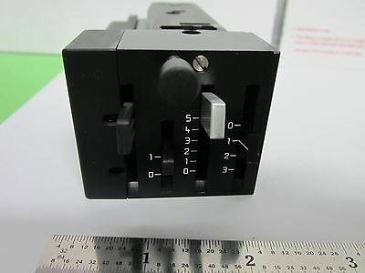 Microscope Filtre Bloc Coulissant Insert 5010-100565 Optiques Bin #F2-89 3