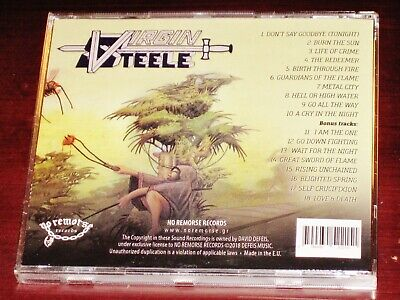 Virgin Steele: II - Guardians Of The Flame CD 2018 Bonus Tracks No Remorse NEW 3