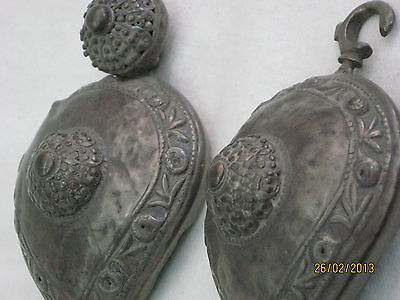 ANTIQUE SILVER WOMEN BELT BUCKLES MIDDLE EAST 18th CENTURY 2