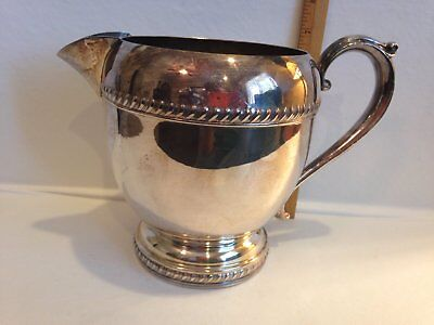 Vintage Silver Plated Pitcher 2