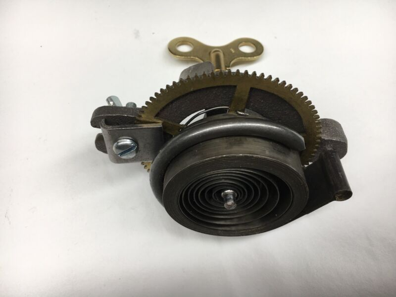 Clock Mainspring Winder and Clamps for Loop End Springs 5