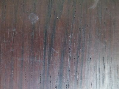 Antique GOTHIC wall clock BLACK FOREST - FRET WORK  bird's eye maple and exotic 5