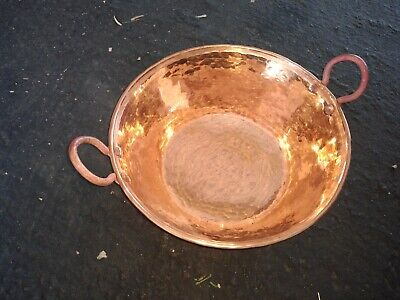 Mexican Pure Copper Pot for Carnitas Cazo. (11 x 5 in) 2